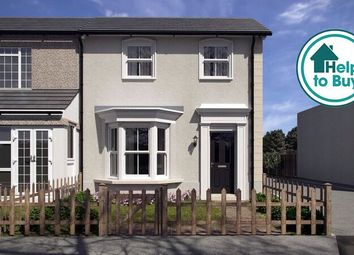 Thumbnail 3 bed semi-detached house for sale in Whitehill Road, Gravesend, Kent