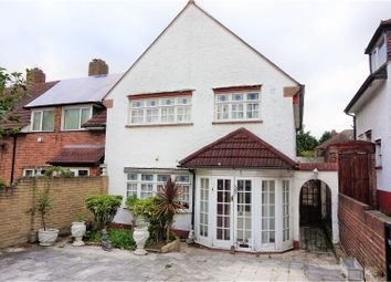 Thumbnail 3 bed end terrace house for sale in Havering Road, Romford