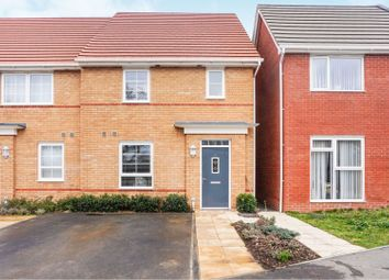 Thumbnail 3 bedroom end terrace house for sale in Wellesley Way, Newport