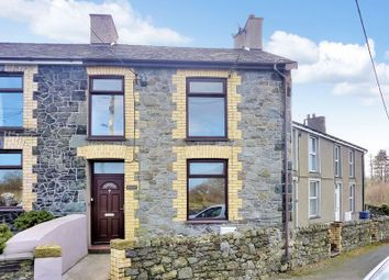 Thumbnail 3 bed terraced house for sale in Groeslon, Caernarfon, Gwynedd.