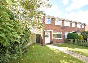 Thumbnail 3 bed end terrace house for sale in Leafield Close, Heswall, Wirral