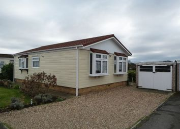 Thumbnail 2 bed mobile/park home for sale in Odds Farm Estate, Wooburn Common, Wooburn Green, High Wycombe