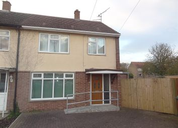 Thumbnail 3 bed end terrace house for sale in Cromwell Crescent, Sleaford