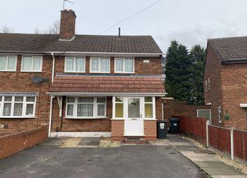 Thumbnail 2 bedroom semi-detached house to rent in Clopton Road, Sheldon, Birmingham
