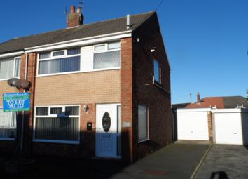 Thumbnail 3 bed semi-detached house to rent in Kinnerton Place, Thornton Cleveleys