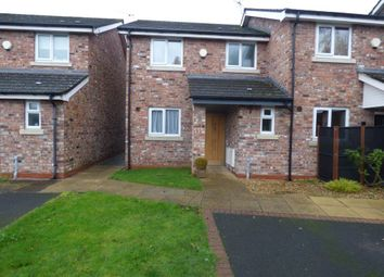 Thumbnail 3 bed terraced house to rent in Vale Crescent, Cheadle Hulme, Cheadle
