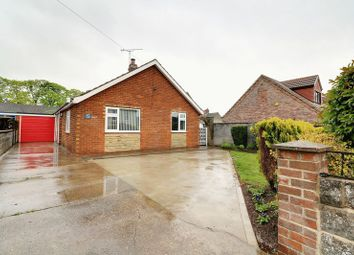 Thumbnail 3 bed detached bungalow for sale in East Street, Hibaldstow, Brigg