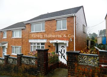 Thumbnail 3 bed semi-detached house for sale in Gwent Way, Tredegar, Blaenau Gwent.