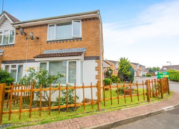 Thumbnail 2 bed end terrace house for sale in Birchwood Gardens, Whitchurch, Cardiff