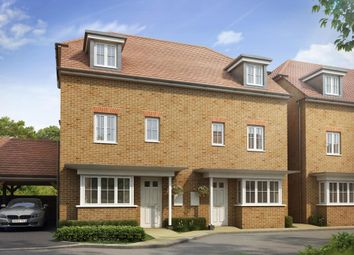 "Thumbnail 4 bed semi-detached house for sale in ""Woodbridge"" at Dorman Avenue North, Aylesham, Canterbury"