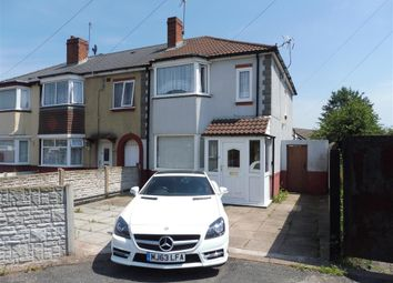 Thumbnail 3 bed end terrace house for sale in Willingsworth Road, Wednesbury