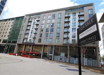 Thumbnail 1 bedroom flat for sale in 50 Mortimer Square, Milton Keynes, Buckinghamshire