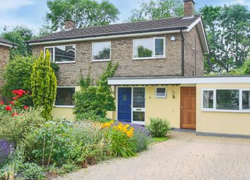 Thumbnail 4 bed link-detached house for sale in The Meadows, Haslingfield, Cambridge
