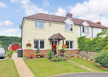 Thumbnail 2 bedroom semi-detached house for sale in Warnford Road, Corhampton, Southampton