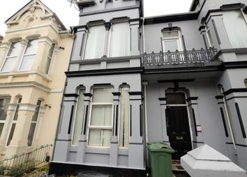 Thumbnail 1 bed flat to rent in Connaught Avenue, Plymouth, Devon