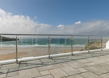Thumbnail 2 bedroom flat for sale in Cliff Road, Newquay