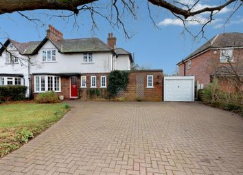 Thumbnail 4 bed semi-detached house for sale in Coleshill Road, Marston Green, Birmingham