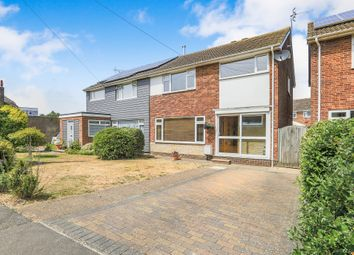 Thumbnail 3 bed semi-detached house for sale in Coast Road, Pevensey Bay, Pevensey