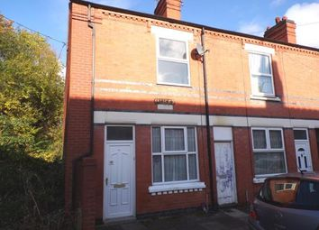 Thumbnail 3 bedroom end terrace house for sale in Larch Street, Leicester, Leicestershire