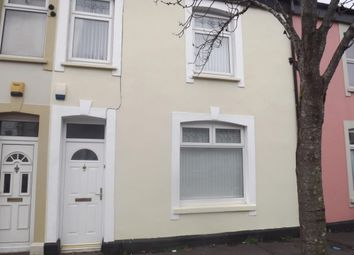 Thumbnail 4 bed terraced house to rent in Kent Street, Cardiff