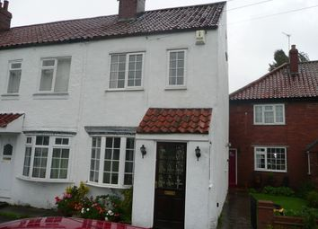 Thumbnail 2 bed cottage to rent in Chapel Green, Appleton Roebuck, York