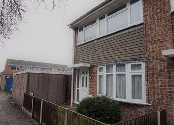 Thumbnail 3 bed end terrace house for sale in Calder, East Tilbury