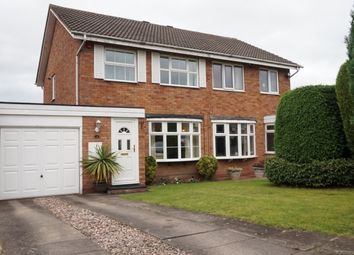 Thumbnail 3 bed semi-detached house for sale in Hadleigh Croft, Minworth, Sutton Coldfield