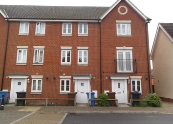 Thumbnail 4 bed town house to rent in Bull Road, Ipswich