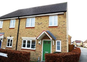 Thumbnail 3 bed end terrace house for sale in Antelope Close, Whitfield, Dover, Kent