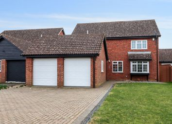 Thumbnail 4 bed detached house for sale in Clive Hall Drive, Longstanton, Cambridge