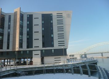 Thumbnail 2 bed flat to rent in Lock 3, The Deck, Runcorn
