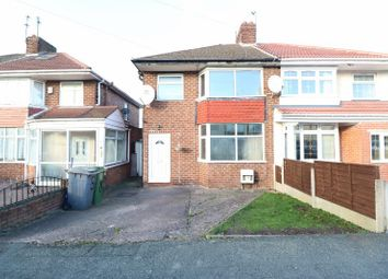 Thumbnail 3 bed semi-detached house for sale in Swinford Road, Wolverhampton, West Midlands