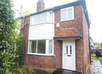 Thumbnail 3 bed property to rent in Riverton Road, Didsbury