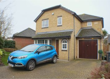 Thumbnail 4 bed detached house to rent in Pannells Close, Chertsey
