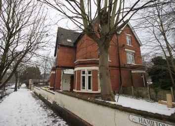 Thumbnail Studio to rent in Hamilton Drive, The Park, Nottingham