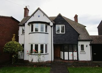 Thumbnail 4 bed detached house to rent in Charlemont Road, Walsall