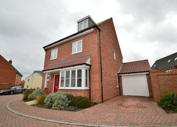 Thumbnail 4 bedroom detached house for sale in Nightjar Grove, Martlesham, Woodbridge