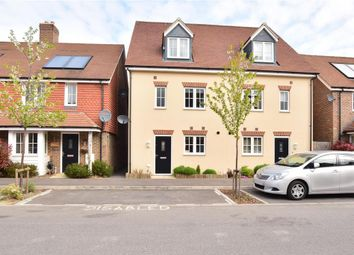 Thumbnail 4 bed semi-detached house for sale in Brookfield Drive, The Acres, Horley, Surrey