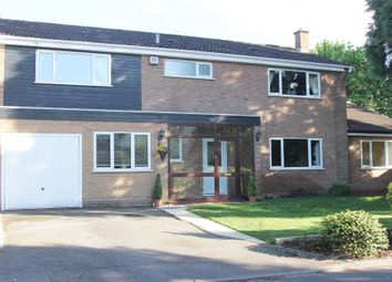 Thumbnail 5 bed detached house for sale in Thickthorn Close, Kenilworth