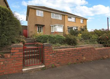 Thumbnail 3 bed semi-detached house for sale in Llwynu Lane, Abergavenny