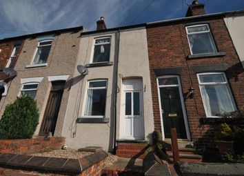 Thumbnail 2 bed terraced house to rent in Prospect Road, Old Whittington, Chesterfield