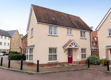 Thumbnail 3 bed detached house for sale in Weetmans Drive, Colchester