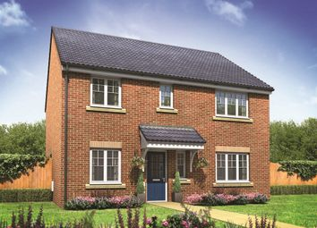 "Thumbnail 4 bed detached house for sale in ""The Marlborough"" at Norwich Road, Wymondham"