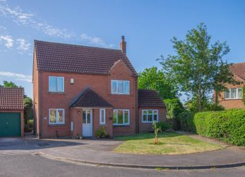 Thumbnail 4 bed detached house for sale in Jubilee Road, Wistow, Selby