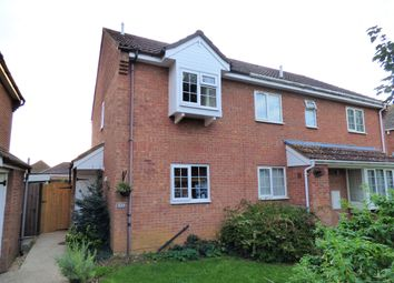 Thumbnail 2 bed end terrace house for sale in Westwood Close, Shortstown, Bedford