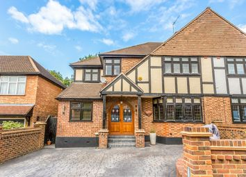 Thumbnail 5 bed semi-detached house to rent in Coolgardie Avenue, Chigwell