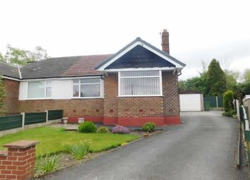 Thumbnail 2 bed semi-detached bungalow for sale in Balliol Close, Woodley, Stockport