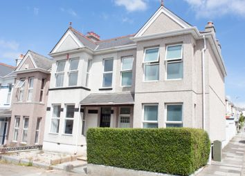 Thumbnail 3 bed end terrace house for sale in Trelawney Road, Peverell, Plymouth