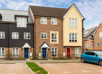 Thumbnail 3 bed town house for sale in Drewitt Place, Aylesbury