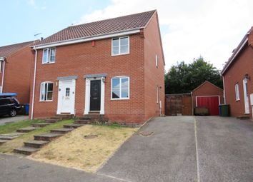 Thumbnail 2 bed semi-detached house for sale in Mill Road, Beccles, Suffolk